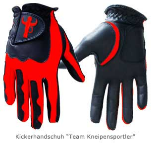Kickerhandschuh Team Kneipensportler